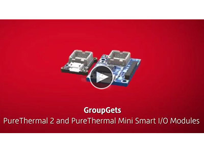 GroupGets PureThermal 2 and PureThermal Mini